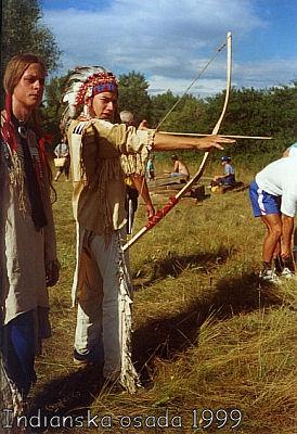 Indiánska osada 1999